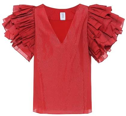 Rosie Assoulin Dust Ruffle top