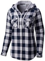 Columbia Women's Penn State Nittany Lions Times Two Hooded Button-Down Shirt