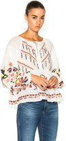 Tanya Taylor Clemence Top in White.
