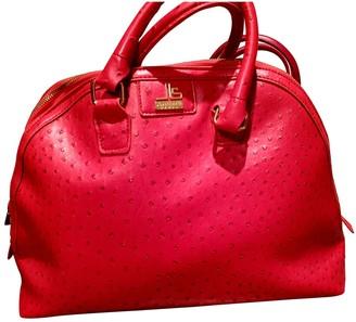 Jean Louis Scherrer Jean-louis Scherrer Red Leather Handbags
