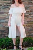 Love Romper Beige Shorts