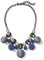 Banana Republic Colored Baubles Statement Necklace
