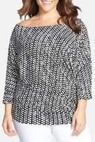 Tart Dolman Sleeve Blouse (Plus Size)