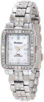 Swarovski Armitron Women's 75/5057MPSV Crystal Accented Silver-Tone Bracelet Watch