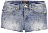 Juicy Couture Girls Denim Scottie Print Short