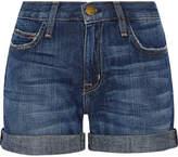 Current/Elliott The Boyfriend Denim Shorts - Mid denim