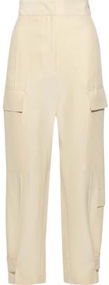 Joseph Ronni Washed-silk Wide-leg Pants