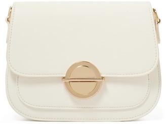 Forever New Lilah Saddle Crossbody Bag - White - 00