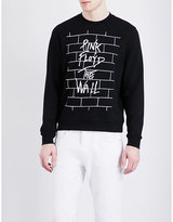 Sandro Pink Floyd-print Cotton-jersey Sweatshirt