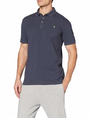 Trussardi Jeans Men's Short Sleeves Polo Shirt Piquet Cotton Regular Fit