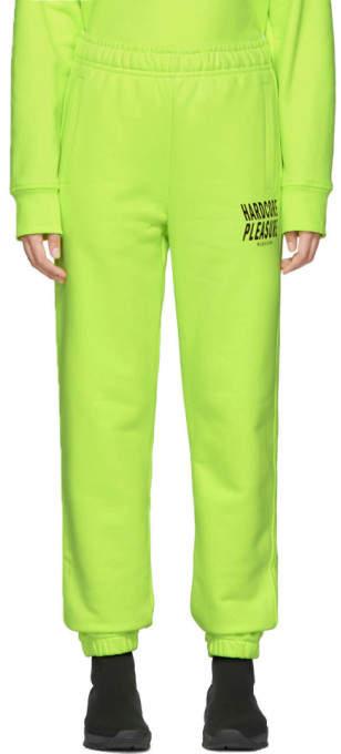 Misbhv Yellow Hardcore Pleasure Lounge Pants