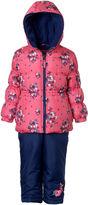 Pink Platinum Heavyweight Snow Suit-Toddler Girls