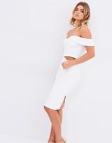 Bardot Eva Snake Skirt