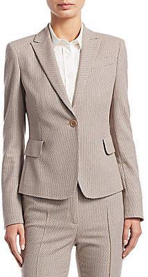 Akris Punto Women's Jacquard Textured Blazer