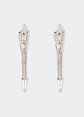 Nikos Koulis Energy Long Diamond Post Earrings