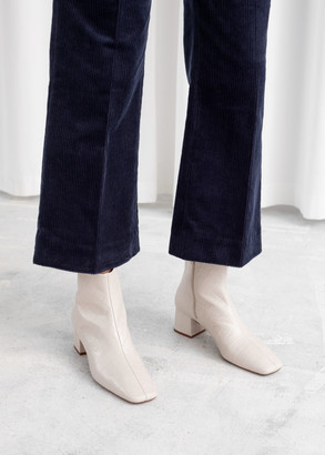 And other stories Cropped Wide Corduroy Trousers