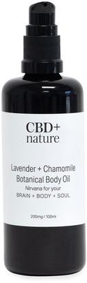 Cbd + Nature 3.4 oz. Lavender + Chamomile Botanical Body Oil