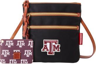 Dooney & Bourke NCAA Texas A&M N S Triple Zip w ID holder