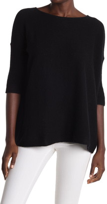 Griffen Cashmere Boxy Boatneck Cashmere Sweater
