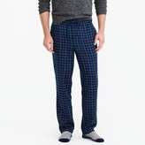 J.Crew Flannel pajama pant in multicolor plaid