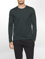 Calvin Klein Platinum Long Sleeve Pocket Shirt