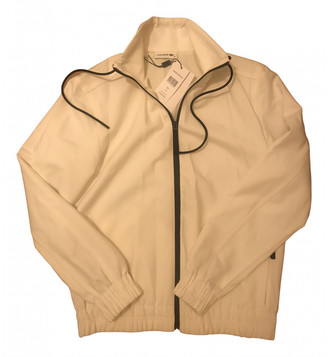 Lacoste White Wool Leather jackets
