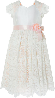 Under Armour Scalloped Lace Occasion Dress Pink