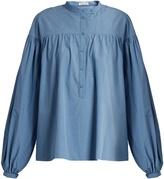 Tomas Maier Poets balloon-sleeved cotton shirt