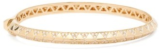 Harwell Godfrey Knife Edge Diamond & 18kt Gold Bracelet - Yellow Gold