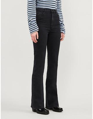 J Brand Runway bootcut high-rise jeans