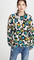 R 13 Multicolor Leopard Sweater