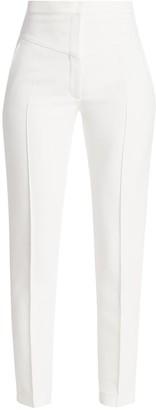 Akris Punto Freya Straight-Leg Pintuck Pants