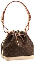 Louis Vuitton Authentic Monogram Canvas Petit Noé NM Shoulder Bag Strap Handbag Article: M40818