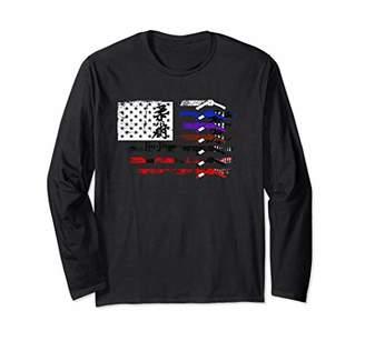 G-fit JIU JITSU TBJJ TEE Brazilian Jiu Jitsu T-Shirt Gfit Long Sleeve T-Shirt