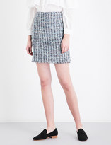 Claudie Pierlot Sand tweed mini skirt