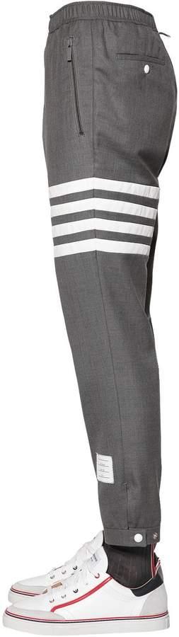 Thom Browne Wool Twill Pants W/Drawstring
