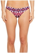 Roxy Strappy Love Reversible Mini Bikini Bottom Women's Swimwear
