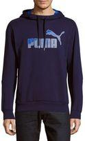 Puma Hero Regular-Fit Cotton-Blend Hoodie