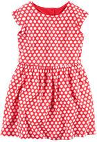Carter's Heart Back Jersey Dress