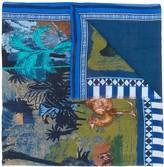 Etro Desert print scarf