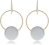 Marni Earrings with Metal and Circles