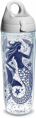 Tervis Mermaid Collage Wrap Water Bottle with Grey Water Bath Lid 24 oz