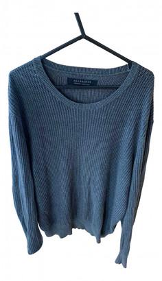 AllSaints Anthracite Cotton Knitwear & Sweatshirts