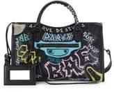 Balenciaga Graffiti Leather Satchel