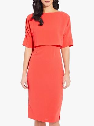 Adrianna Papell Cameron Sheath Dress, Sugar Coral