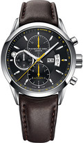 Raymond Weil Freelancer automatic chronograph stainless steel leather strap watch