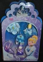 Princess Disney Cinderella Hair Clips Barrette Set