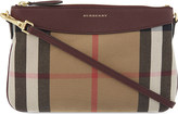 Burberry Peyton canvas and leather cross-body bag