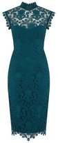 Dorothy Perkins Womens Paper Dolls Teal Sleeveless Bodycon Dress