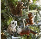 Woodland Creature Ornaments, Set of 4